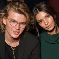 Jordan Barrett and Emily Ratajkowski