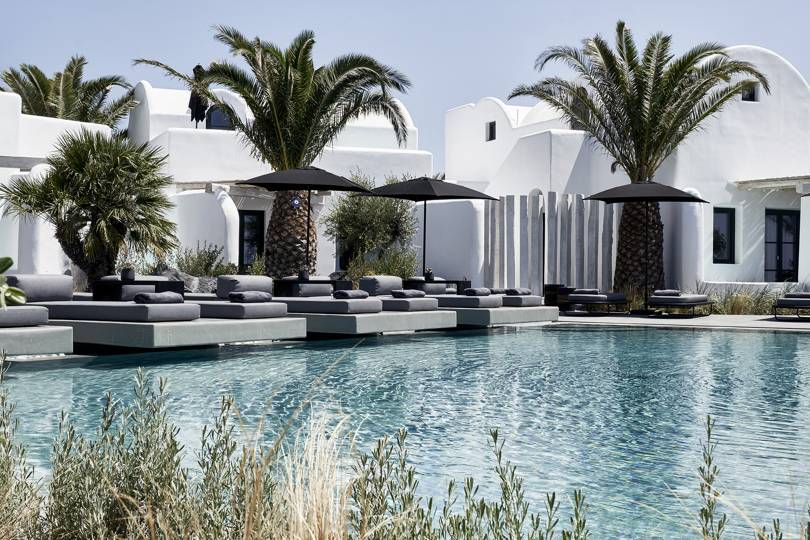 We're officially dubbing this boutique hotel Santorini's most Instagrammable hidden gem