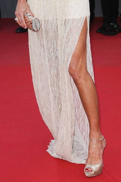 Amputee stopped at Cannes for not wearing heels
