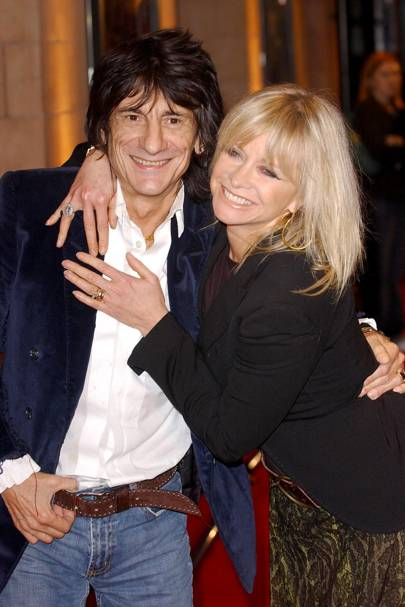Jo Wood & Ronnie Wood