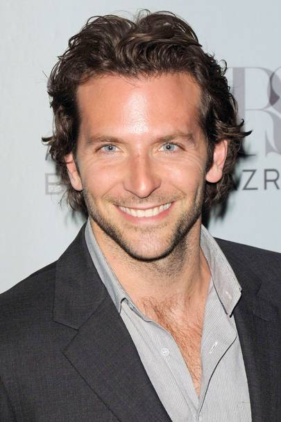 There's no denying that Bradley Cooper is one helluva good looking guy;  with piercing blue eyes, a chiselled jaw akin to that of Michaelangelo's  David, ... - Bradley Cooper Hair - Celebrity Men Hairstyles Glamour UK