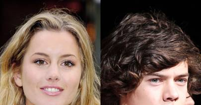 Harry Styles denies dating Caggie Dunlop