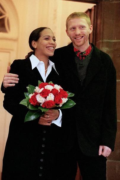 Boris Becker & Barbara Feltus