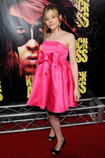 Chloe Moretz – Prom Pink