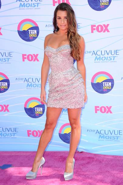 Lea Michele at the Teen Choice Awards 2012