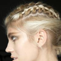 Multiple French braids