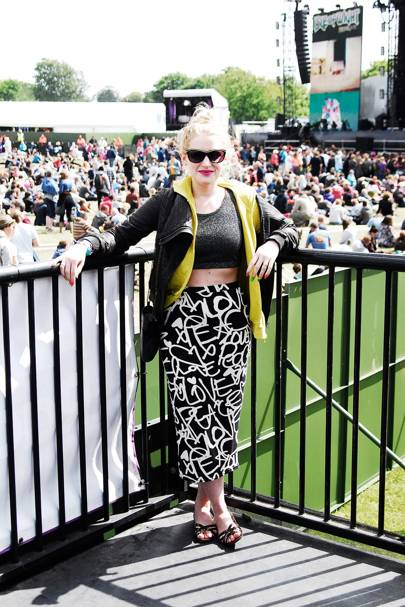 Amy Swales, Writer, Isle of Wight Festival