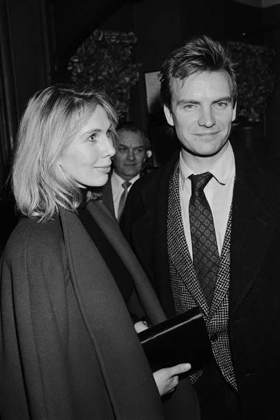 Sting & Trudie Styler