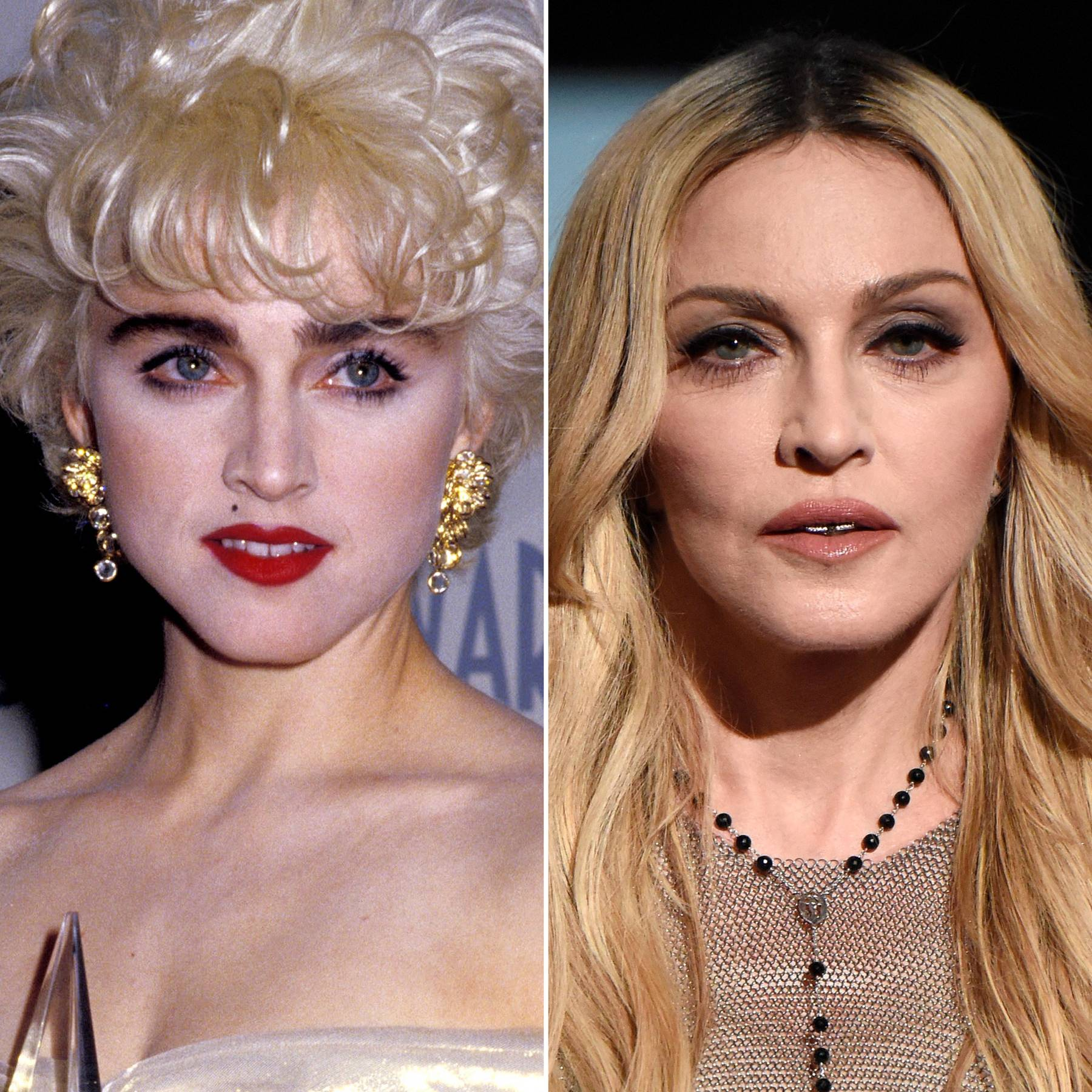 Celebrity Eyebrow Transformations: Thin vs Thick   Glamour UK