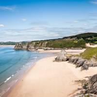 Crawley Beach, Gower Peninsula, Wales