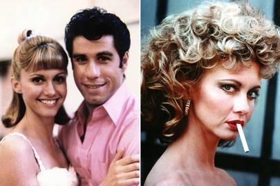 Cool Best Movie Makeovers Grease Mean Girls Amp More Glamour Uk Short Hairstyles Gunalazisus