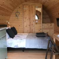 Best glamping with hot tub