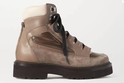 Best walking boots for women: Brunello Cucinelli