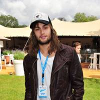 Douglas Booth at the Unwind Lounge at Barlcaycard Wireless
