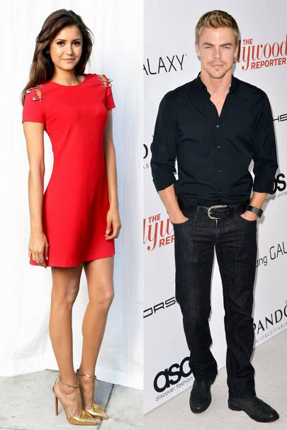 August: Nina Dobrev & Derek Hough