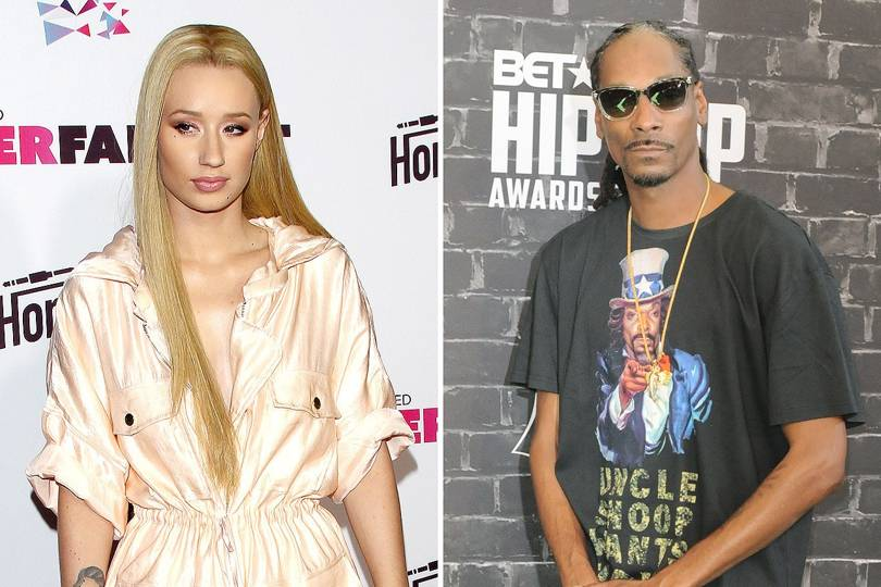 afbe277e792 Feud! Snoop Dogg   Iggy Azalea trade insults over Instagram Twitter ...
