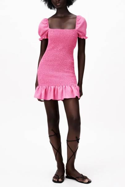 SUMMER DRESSES FOR BIG BOOBS: The Little Pink Dress