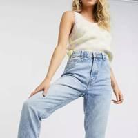 ASOS mom jeans