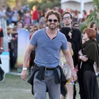 Gerard Butler at Coachella 2012
