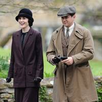 Michelle Dockery and Allan Leech in Downton Abbey