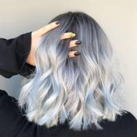 How To Get Grey Hair: A Guide To 2018\'s Silver Hair Colour Trend ...