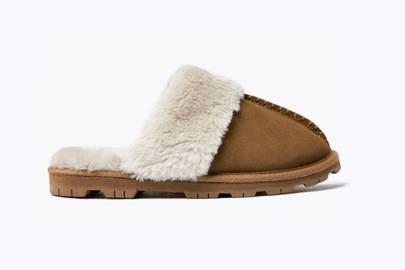 Best women's slippers UK: suede mule slippers