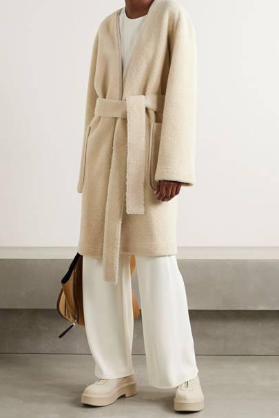 Best winter coat belted