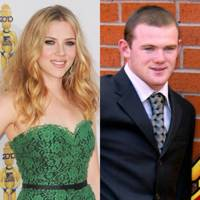 Scarlett Johansson and Wayne Rooney