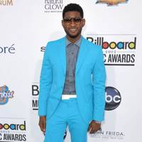 Usher at the Billboard Music Awards 2012