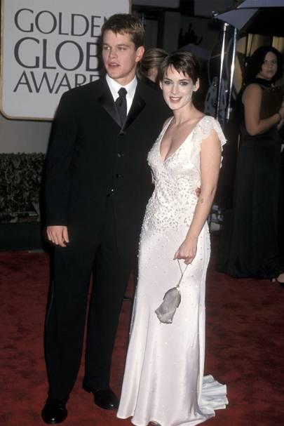 Winona Ryder and Matt Damon