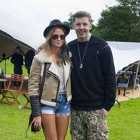 Professor Green and Millie Mackintosh at Isle Of Wight Festival