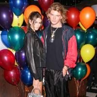 Kaia Gerber & Jordan Barrett