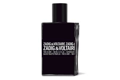 Thursday 9th February: Zadig & Voltaire This is Him Eau de Toilette, 50ml and headphones