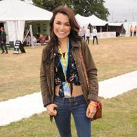 Samantha Barks at V Festival