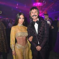 Kim Kardashian and Jonathan Cheban as Sonny and Cher