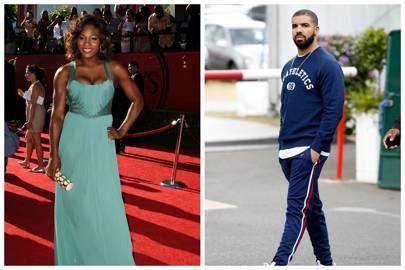 Serena Williams & Drake