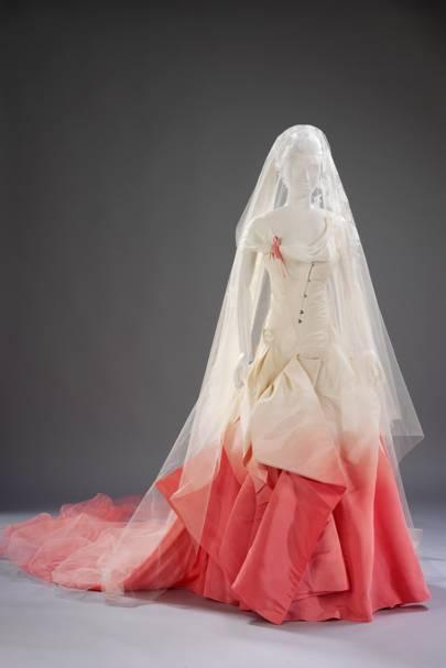 Celebrity wedding dresses dita von teese gwen stefani kate va gwen stefani is our favourite celeb bride junglespirit Gallery