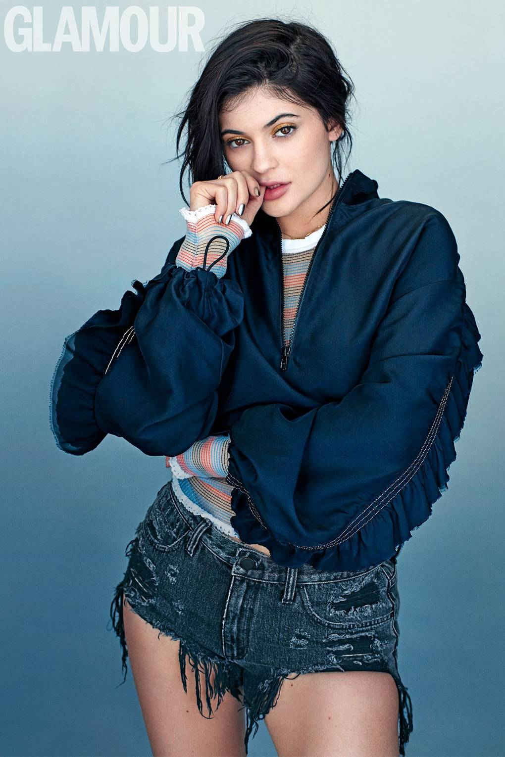 Kylie Jenner Glamour Interview I M An Inspiration Glamour Uk