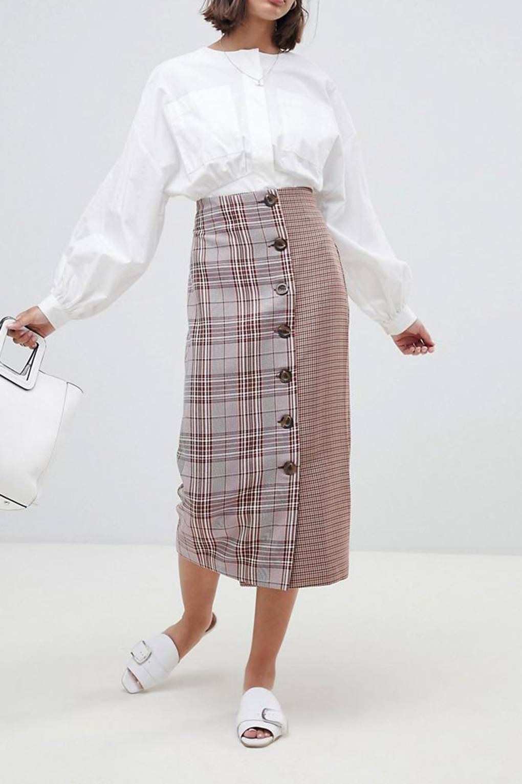 b5cad22c5d Midi Skirts: The 20 Best Mid-Length Skirts To Shop Right Now   Glamour UK