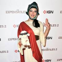 Adrianne Curry at Comic-Con 2012