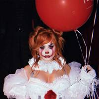 Demi Lovato as Pennywise the clown