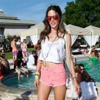 Alessandra Ambrosio at Coachella