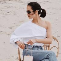 Influencers are obsessed with this brand that's reimagining the timeless white shirt to make basic seriously bouji