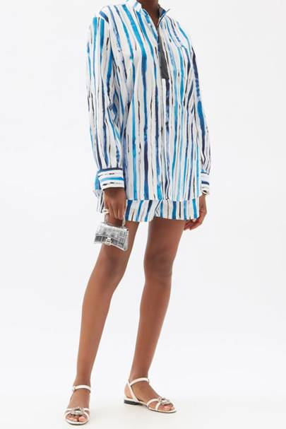 Summer Co-ords - Striped Poplin
