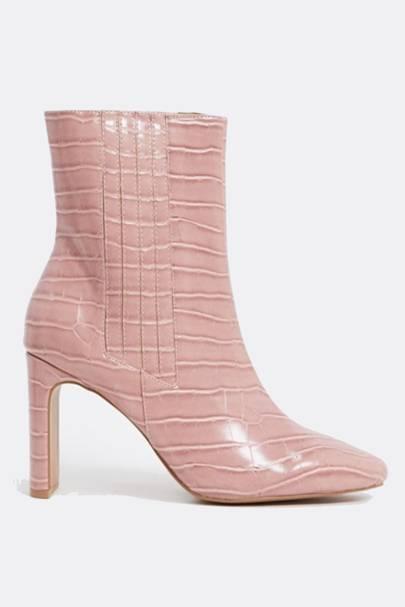 The mock croc boots