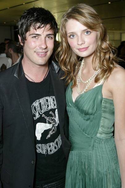 Mischa Barton and Brandon Davis