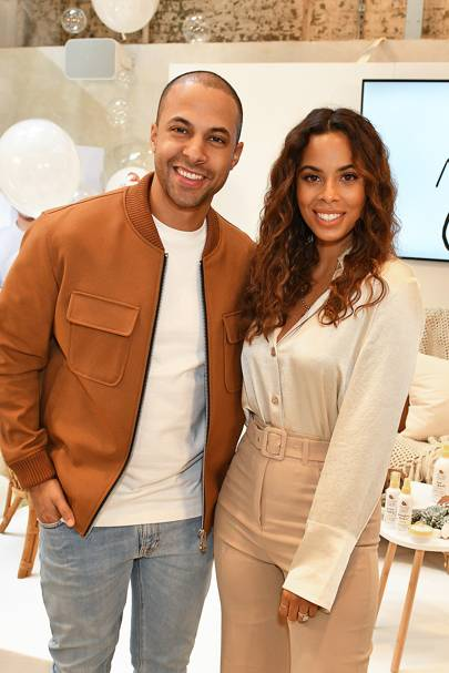 Rochelle & Marvin Humes