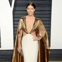 Jessica Biel at the Vanity Fair after-party