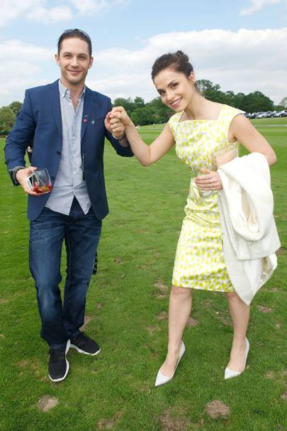 Tom Hardy & Charlotte Riley
