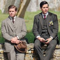 Alan Leech and Rob James-Collier in Downton Abbey
